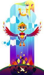 Skyward Sword Poster by hollyfig
