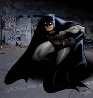 The Dark Knight by tlsivart