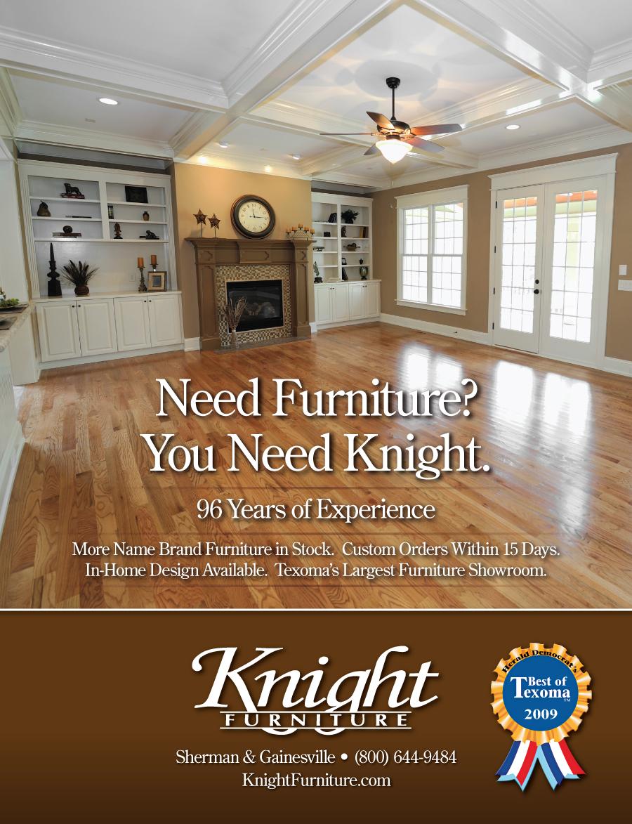 knight furniture ad by tlsivart on deviantart
