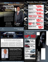 Mercedes-Benz of Fresno Mailer by tlsivart