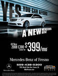 Mercedes-Benz Magazine Ad