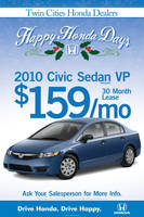 Happy Honda Days Poster by tlsivart
