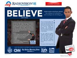 RadioVision for President by tlsivart