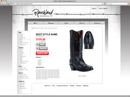 Ranchland Website - Product by tlsivart