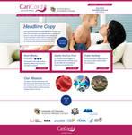 CariCord.com homepage design by tlsivart