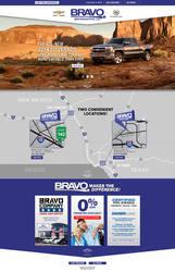 Bravo Chevrolet Landing Page