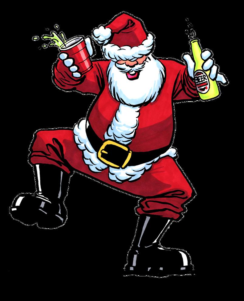 Santa Party by tlsivart