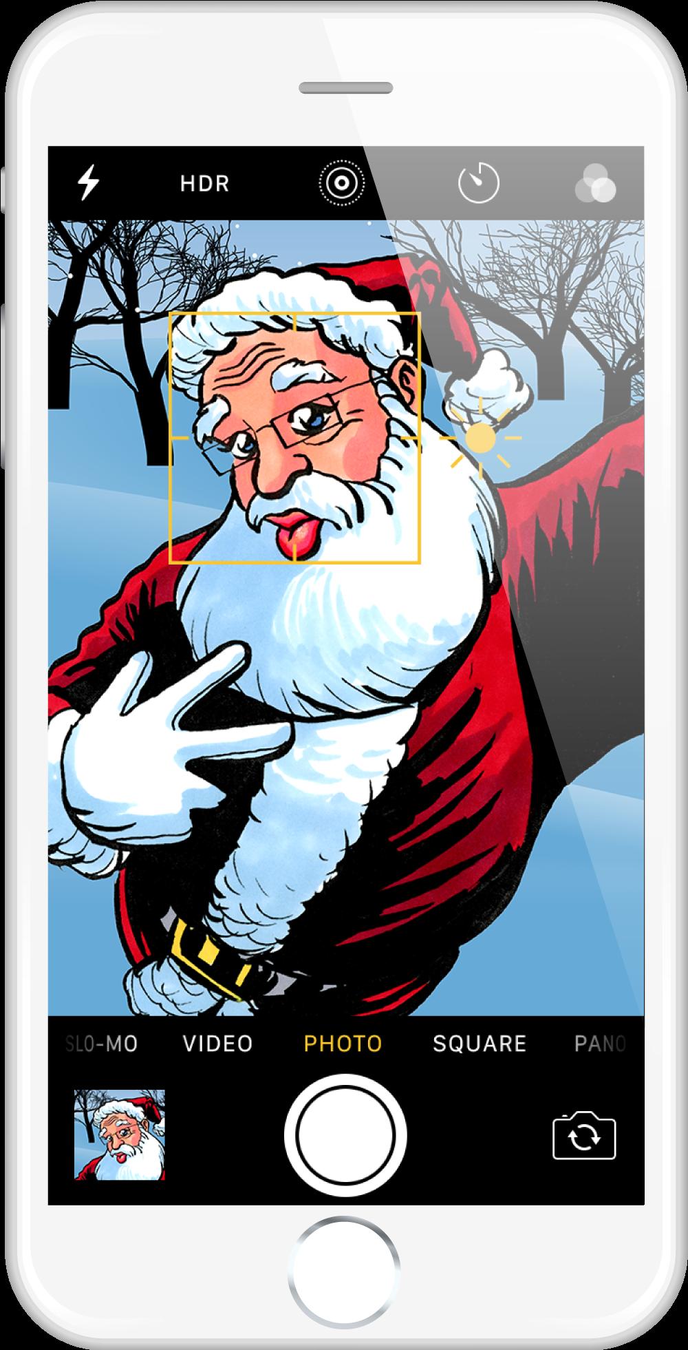 Santa Selfie by tlsivart