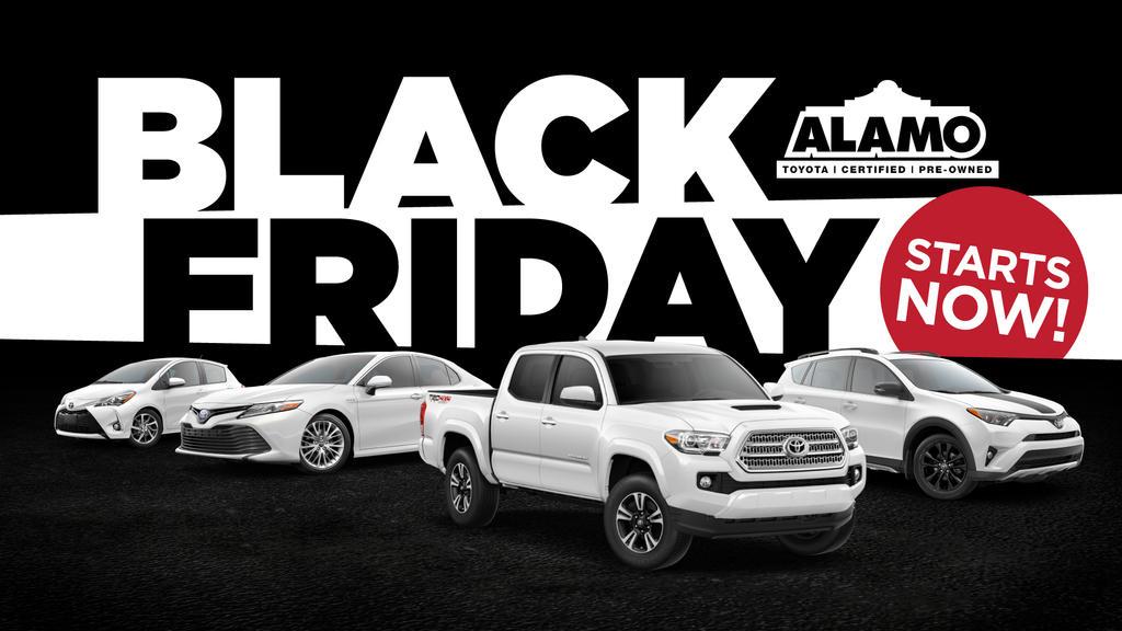 Alamo Toyota Black Friday by tlsivart
