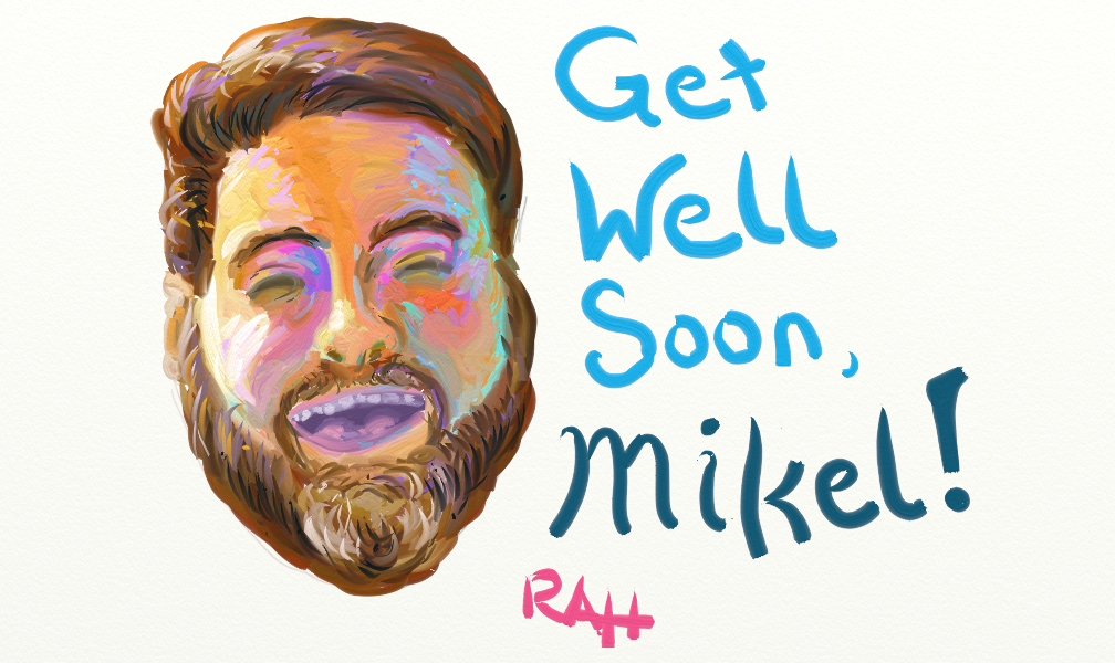 Get Well Soon Mikel by brotherpanda