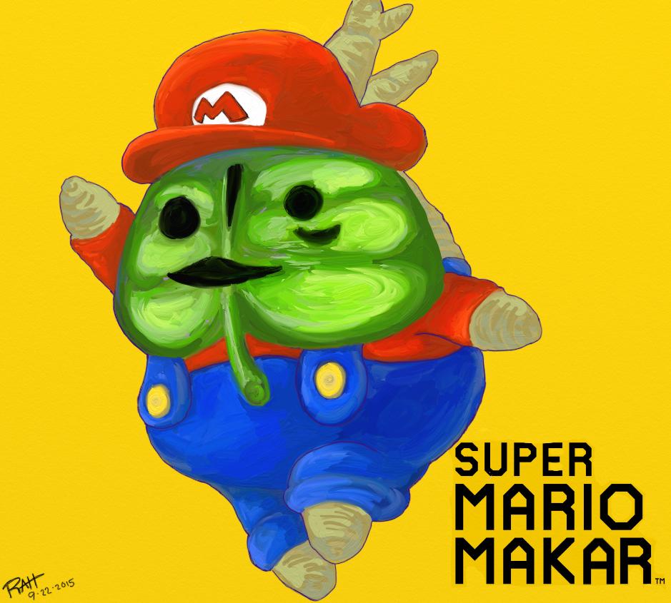 Super Mario Makar by brotherpanda