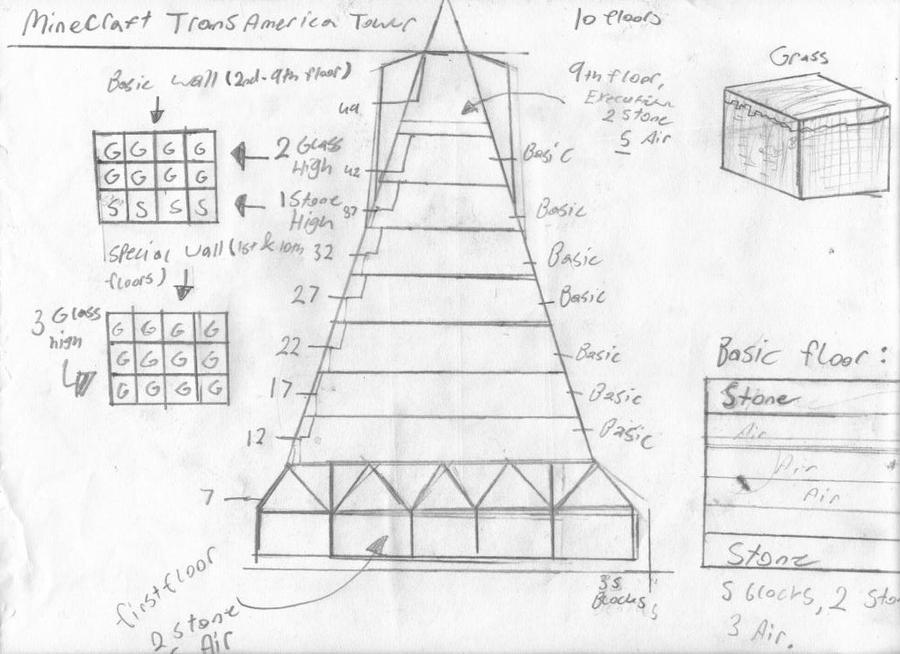 Minecraft Transamerica Plan By Revolution689 On Deviantart