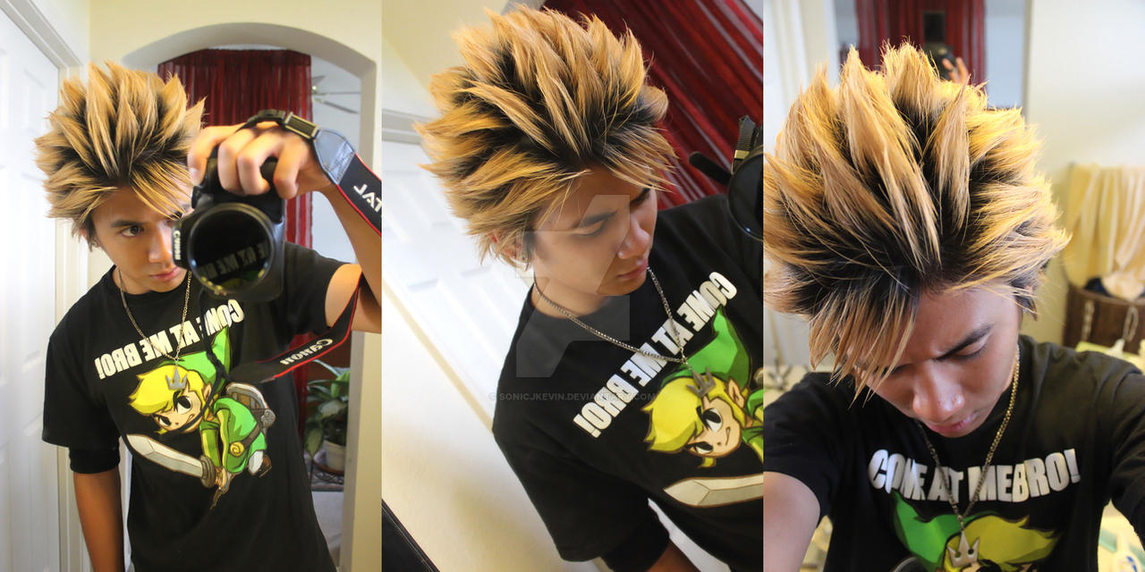 Crazy Anime Hairstyle By Sonicjkevin On Deviantart