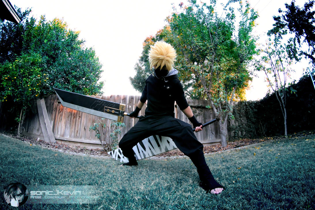 Cloud Strife by sonicJKevin