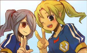 Inazuma11:Kazemaru and Ryuji by sagenac