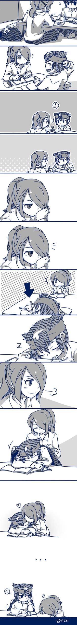 Inazuma11:Kaze X Endou by sagenac