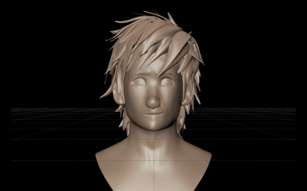 Hiccup 3d Model Front View By Treblesketchofficial On