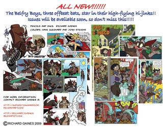Belfry Boys Comics by SuperStinkWarrior