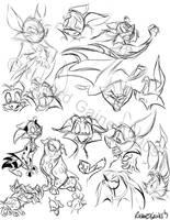 Belfry Boys Sketches by SuperStinkWarrior