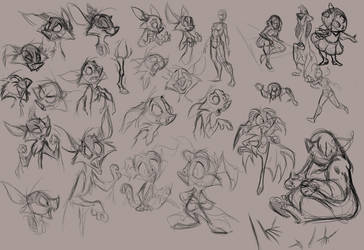Sketchdump 9-04-12 Part 2 by SuperStinkWarrior