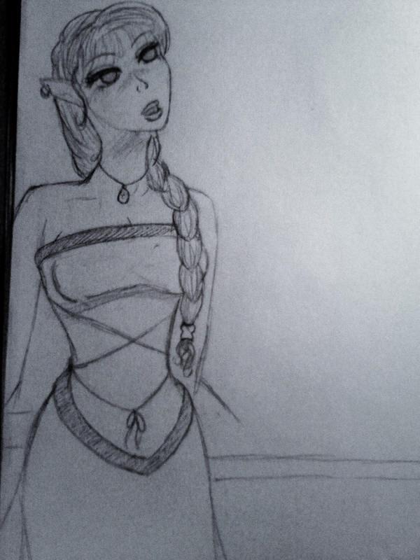 Deedolett Sketch by DeedoSwiftleaf