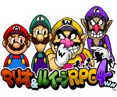 Mario,Luigi,Wario and Waluigi RPG 4ww by doctorWalui