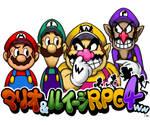 Mario,Luigi,Wario and Waluigi RPG 4ww