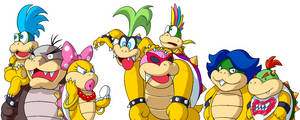 Koopalings by doctorWalui