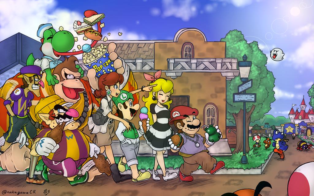 Luigi mansion-family by Sammypipluppmd2fan on DeviantArt |Luigis Family Tree