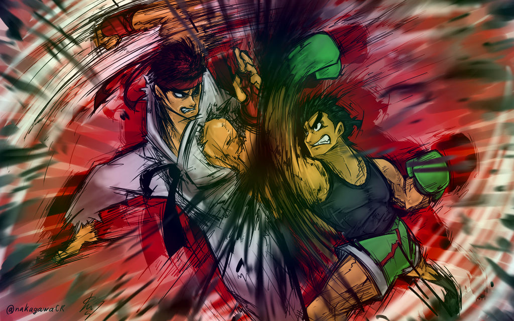 Ryu vs  Little Mac by doctorWalui on DeviantArt