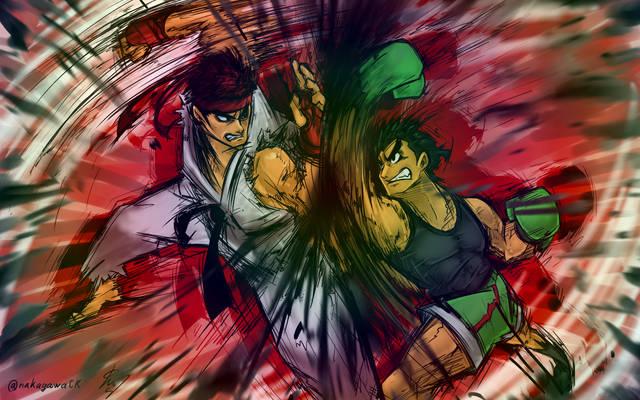Ryu vs. Little Mac