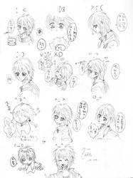zadkiel sketches by vampiresongka