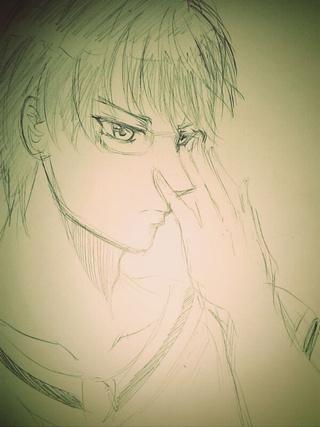 Midorima Sketch by vampiresongka