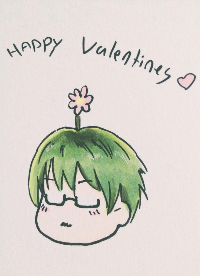 Budding Valentines Day - Midorima style by vampiresongka