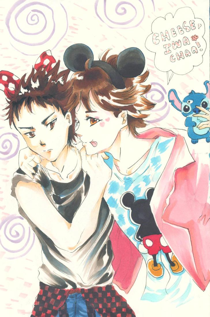 IwaOi - Date at Tokyo Disney by vampiresongka