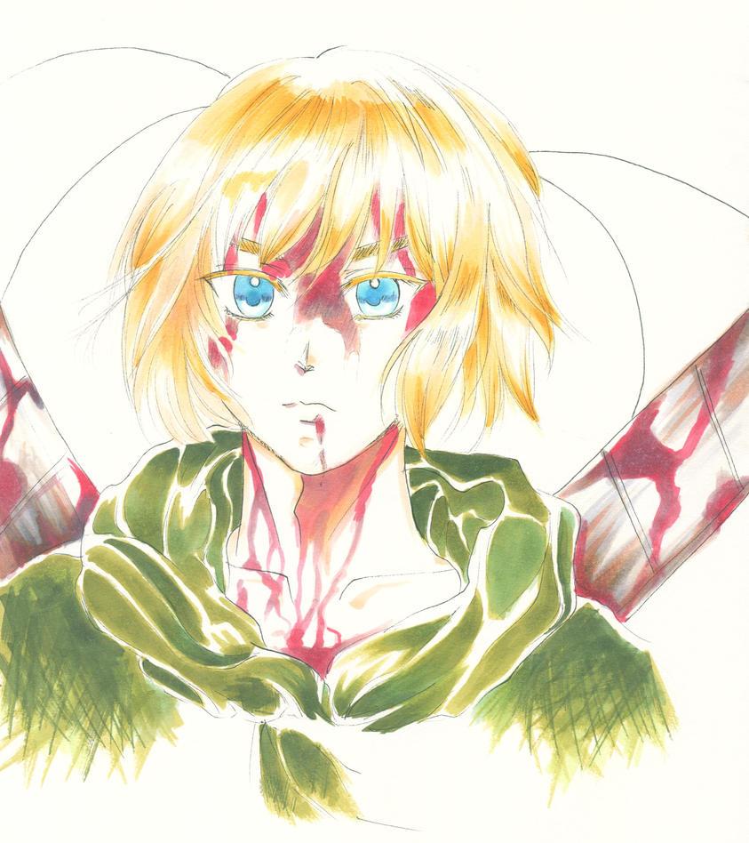 Armin by vampiresongka