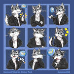 Desmond Telegram Stickers [commission]