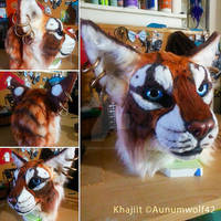 Khajiit Fursuit Head