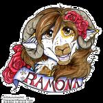 Ramona Rose Badge