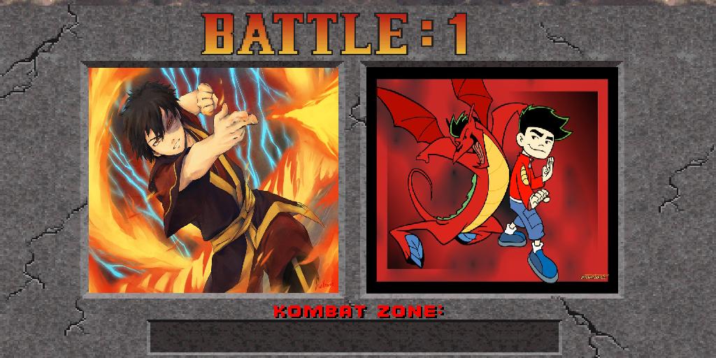 Zuko vs Jake Long by kirk327