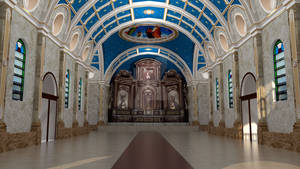 St Michael Malacanang Revised Interior
