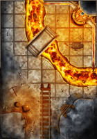 Dungeon Tiles - Forge of a Thousand Souls by SaintJG