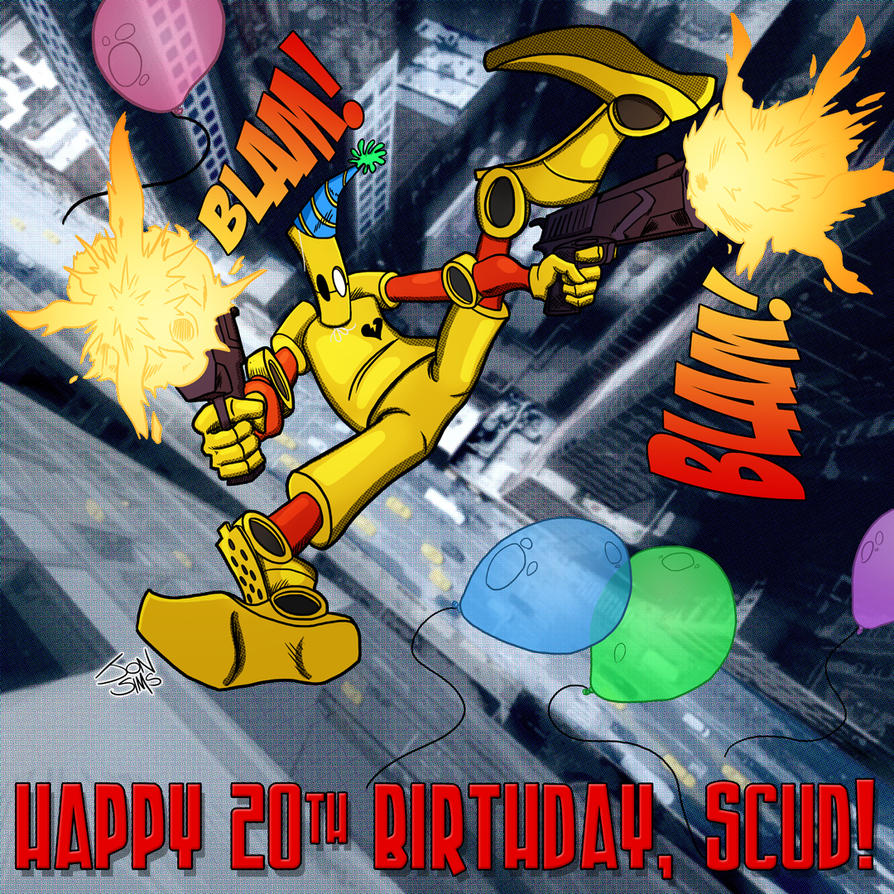 Happy Birthday Scud (party version) by JackHook