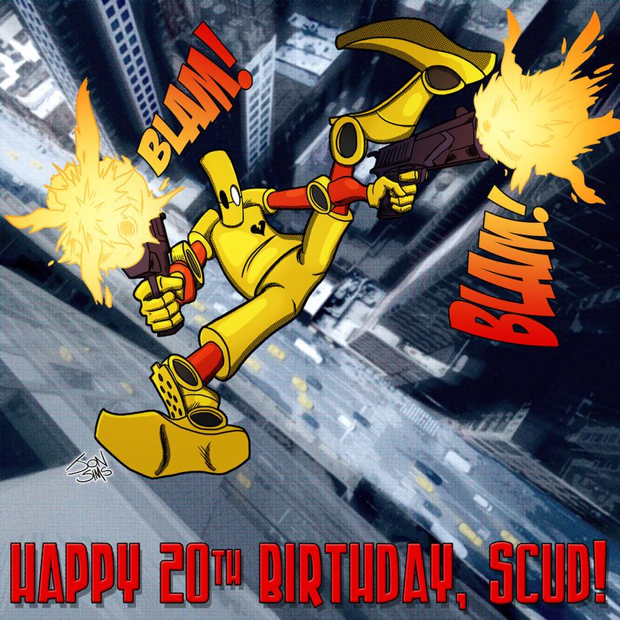 Happy Birthday Scud by JackHook