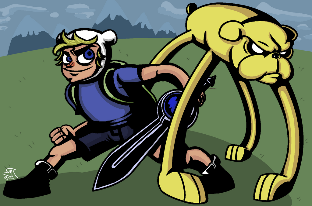 Finn And Jake Time by Luisaruas