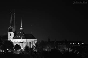 Cathedrale Notre-Dame de Luxembourg by fucute