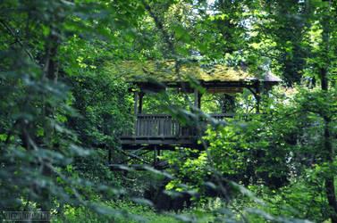 Abandoned Bridge by fucute