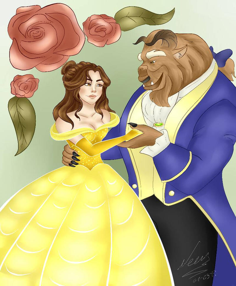Beauty and the Beast by Snow5610