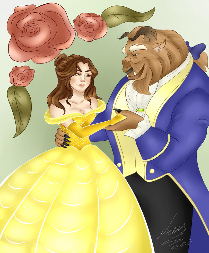 Beauty and the Beast (resubmitted) by Snow5610