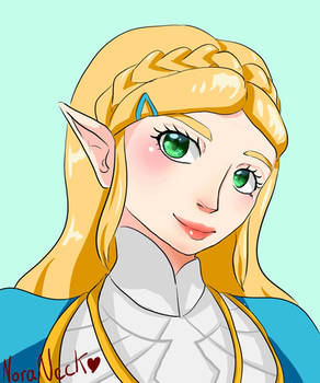 The Legend of Zelda - Princess Zelda- BOTW